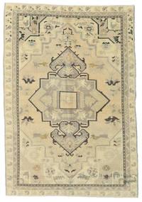 Taspinar Dywan 151X215 Orientalny Tkany Ręcznie Ciemnobeżowy/Beżowy/Zielony/Oliwkowy (Wełna, Turcja)