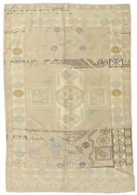 Taspinar Dywan 148X217 Orientalny Tkany Ręcznie Ciemnobeżowy/Zielony/Oliwkowy (Wełna, Turcja)