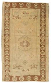 Taspinar Dywan 108X180 Orientalny Tkany Ręcznie Ciemnobeżowy/Jasnobrązowy (Wełna, Turcja)