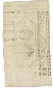 Taspinar Dywan 120X216 Orientalny Tkany Ręcznie Ciemnobeżowy/Beżowy (Wełna, Turcja)