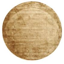 Brooklyn - Złoty Dywan Ø 200 Nowoczesny Okrągły Jasnobrązowy/Ciemnobeżowy ( Indie)