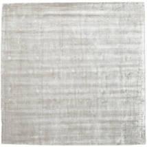 Broadway - Srebrny White Dywan 250X250 Nowoczesny Kwadratowy Jasnoszary Duży ( Indie)