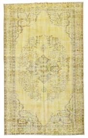 Colored Vintage Dywan 160X264 Nowoczesny Tkany Ręcznie Żółty/Jasnozielony/Beżowy (Wełna, Turcja)