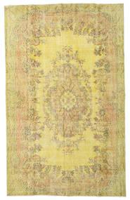 Colored Vintage Dywan 172X279 Nowoczesny Tkany Ręcznie Żółty/Ciemnobeżowy (Wełna, Turcja)