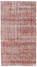 Colored Vintage Dywan 140X257 Nowoczesny Tkany Ręcznie Jasnoszary/Ciemnoczerwony (Wełna, Turcja)