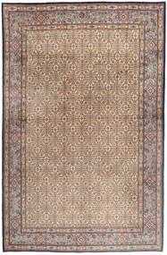 Moud Dywan 181X279 Orientalny Tkany Ręcznie Jasnoszary/Jasnobrązowy/Brązowy (Wełna/Jedwab, Persja/Iran)