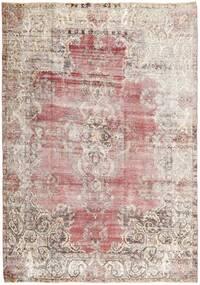 Colored Vintage Dywan 205X288 Nowoczesny Tkany Ręcznie Jasnoszary/Biały/Creme (Wełna, Persja/Iran)