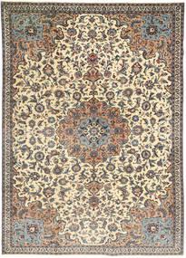 Kashmar Patina Dywan 220X315 Orientalny Tkany Ręcznie Jasnoszary/Ciemnobrązowy (Wełna, Persja/Iran)