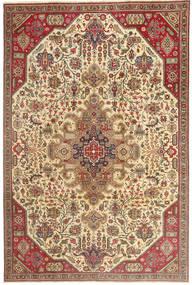 Tebriz Patina Dywan 190X280 Orientalny Tkany Ręcznie Jasnobrązowy/Ciemnobeżowy (Wełna, Persja/Iran)