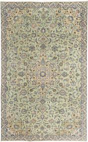 Keszan Patina Dywan 190X313 Orientalny Tkany Ręcznie Jasnoszary/Ciemnobeżowy (Wełna, Persja/Iran)