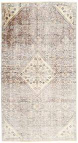 Colored Vintage Dywan 137X257 Nowoczesny Tkany Ręcznie Jasnoszary/Beżowy (Wełna, Persja/Iran)