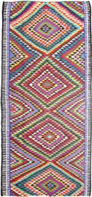 Kilim Dywan 172X365 Orientalny Tkany Ręcznie Chodnik Jasnoszary/Fioletowy (Wełna, Persja/Iran)