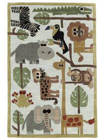 Zoo Handtufted Dywan 170X240 Nowoczesny Jasnoszary/Jasnoniebieski (Wełna, Indie)