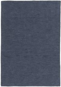 Kilim Loom - Denim Niebieski Dywan 160X230 Nowoczesny Tkany Ręcznie Niebieski (Wełna, Indie)