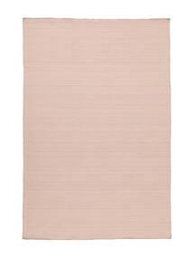 Kilim Loom - Mglisty Róż Dywan 200X300 Nowoczesny Tkany Ręcznie Jasnoróżowy/Jasnofioletowy (Wełna, Indie)