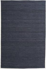 Alva - Niebieski/Czarny Dywan 200X300 Nowoczesny Tkany Ręcznie Ciemnoniebieski/Fioletowy (Wełna, Indie)