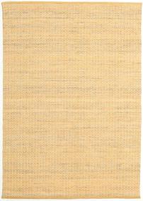 Alva - Ciemny _Gold/White Dywan 160X230 Nowoczesny Tkany Ręcznie Ciemnobeżowy/Jasnobrązowy (Wełna, Indie)