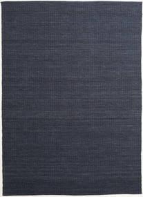 Alva - Niebieski/Czarny Dywan 250X350 Nowoczesny Tkany Ręcznie Ciemnoniebieski/Fioletowy Duży (Wełna, Indie)
