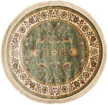 Sarina - Zielony Dywan Ø 150 Nowoczesny Okrągły Beżowy/Ciemnobeżowy ( Turcja)