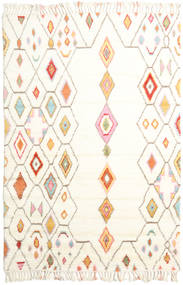 Hulda Dywan 200X300 Nowoczesny Tkany Ręcznie Beżowy/Biały/Creme (Wełna, Indie)