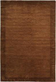 Handloom Frame - Brunatny Dywan 200X300 Nowoczesny Brązowy (Wełna, Indie)