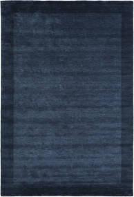 Handloom Frame - Ciemnoniebieski Dywan 200X300 Nowoczesny Ciemnoniebieski/Niebieski (Wełna, Indie)