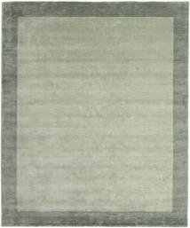 Handloom Frame - Szary/Zielony Dywan 250X300 Nowoczesny Jasnozielony/Pastel Zielony Duży (Wełna, Indie)