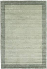 Handloom Frame - Szary/Zielony Dywan 200X300 Nowoczesny Jasnozielony/Pastel Zielony (Wełna, Indie)