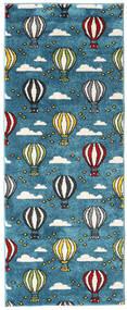 Balloons Dywan 80X200 Nowoczesny Chodnik Ciemnoniebieski/Ciemny Turkus ( Turcja)