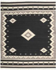 Tribal - Czarny Dywan 250X300 Nowoczesny Tkany Ręcznie Czarny/Jasnoszary Duży (Wełna, Indie)