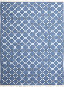 London - Niebieski/Kość Słoniowa Dywan 300X400 Nowoczesny Tkany Ręcznie Niebieski/Beżowy Duży (Wełna, Indie)