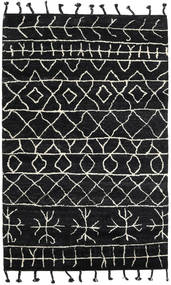 Moss Berber - Czarny Dywan 180X275 Nowoczesny Tkany Ręcznie Czarny (Wełna, Indie)