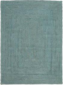 Frida Color - Turkusowy Dywan 160X230 Nowoczesny Tkany Ręcznie Turkusowy Niebieski/Turkusowy Niebieski ( Indie)
