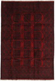 Afgan Dywan 198X288 Orientalny Tkany Ręcznie Ciemnoczerwony (Wełna, Afganistan)