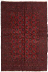 Afgan Dywan 160X237 Orientalny Tkany Ręcznie Ciemnoczerwony/Ciemnobrązowy (Wełna, Afganistan)