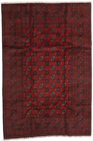 Afgan Dywan 158X240 Orientalny Tkany Ręcznie Ciemnoczerwony/Ciemnobrązowy (Wełna, Afganistan)