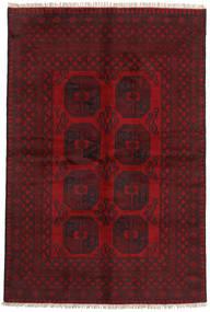Afgan Dywan 161X243 Orientalny Tkany Ręcznie Ciemnoczerwony/Ciemnobrązowy (Wełna, Afganistan)