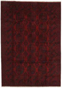 Afgan Dywan 200X284 Orientalny Tkany Ręcznie Ciemnoczerwony (Wełna, Afganistan)