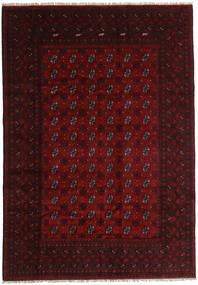 Afgan Dywan 196X281 Orientalny Tkany Ręcznie (Wełna, Afganistan)