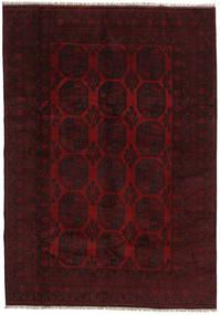 Afgan Dywan 199X282 Orientalny Tkany Ręcznie Ciemnoczerwony (Wełna, Afganistan)