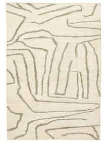 Native Dywan 200X300 Nowoczesny Tkany Ręcznie Beżowy/Jasnoszary ( Indie)