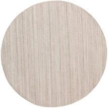 Dywan Zewnętrzny Petra - Beige_Mix Dywan Ø 200 Nowoczesny Tkany Ręcznie Okrągły Jasnoszary/Biały/Creme ( Indie)