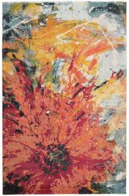 Flora Dywan 200X300 Nowoczesny Czerwony/Beżowy ( Turcja)