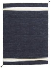 Ernst - Navy/Kość Słoniowa Dywan 170X240 Nowoczesny Tkany Ręcznie Ciemnoszary (Wełna, Indie)