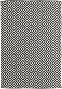Torun - Czarny/Neutral Dywan 170X240 Nowoczesny Tkany Ręcznie Czarny/Ciemnobeżowy (Bawełna, Indie)