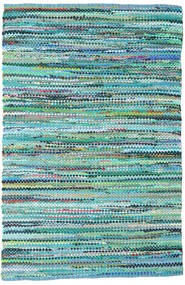 Ronja - Zielony Mix Dywan 170X240 Nowoczesny Tkany Ręcznie Turkusowy Niebieski/Jasnoniebieski (Bawełna, Indie)