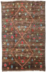 Barchi/Moroccan Berber - Afganistan Dywan 190X304 Nowoczesny Tkany Ręcznie Brązowy/Ciemnobrązowy (Wełna, Afganistan)
