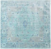 Maharani - Niebieski Dywan 200X200 Nowoczesny Kwadratowy Jasnoniebieski/Turkusowy Niebieski ( Turcja)