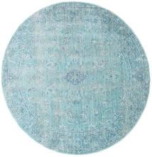 Maharani - Niebieski Dywan Ø 150 Nowoczesny Okrągły Jasnoniebieski/Turkusowy Niebieski ( Turcja)
