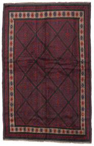 Beludż Dywan 150X235 Orientalny Tkany Ręcznie Ciemnoczerwony/Czarny (Wełna, Afganistan)